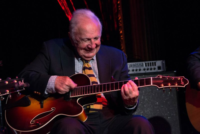 Bucky Pizzarelli, The Cutting Room, NYC 6-14