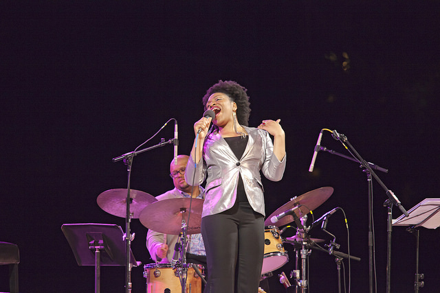 Charenee Wade at the 2014 Spoleto Festival USA