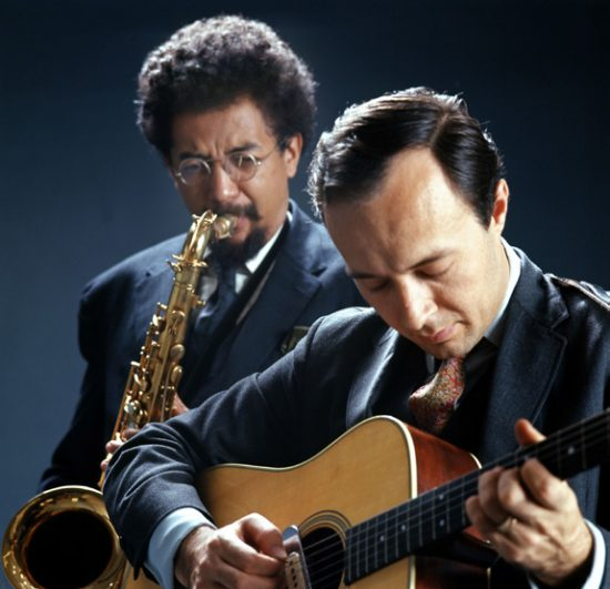 Charles Lloyd and Gabor Szabo. image 0
