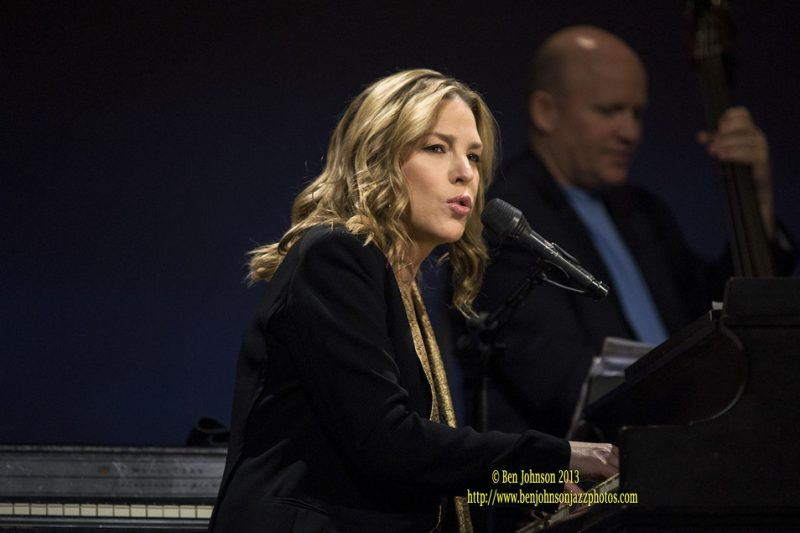 """Pianist and singer Diana Krall will release a new studio album, Wallflower, on Verve Records September 9. The new release is described in a press release as """"a collection of songs from the late '60s to the present day that inspired Krall in her early years."""" The album is produced by David Foster. Tracks include […]"""