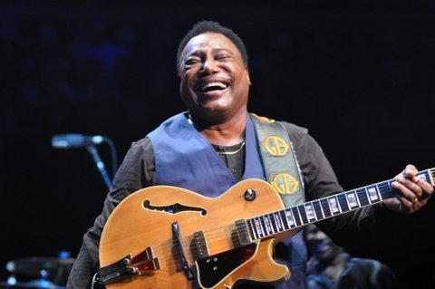 George Benson performing at the Royal Albert Hall in London on June 25, 2014