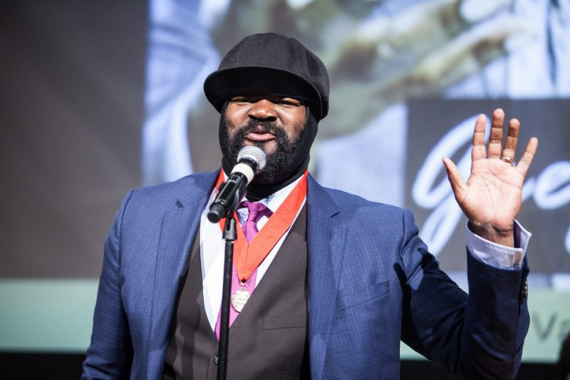 Gregory Porter at ASCAP's Jazz Wall of Fame event, NYC 6-14