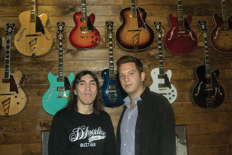 D'Angelico's Steve Pisani (l.) and Brenden Cohen