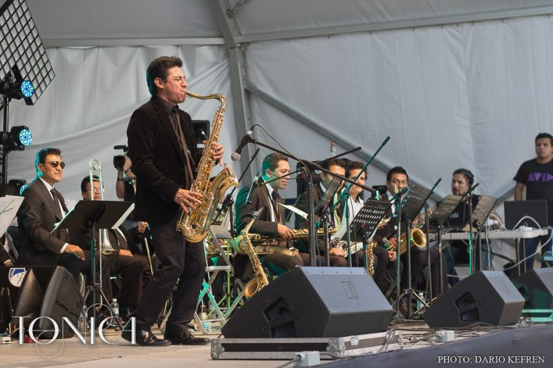 Ernesto Ramos and Big Band Jazz de Mexico, Jalisco Jazz Festival 2014