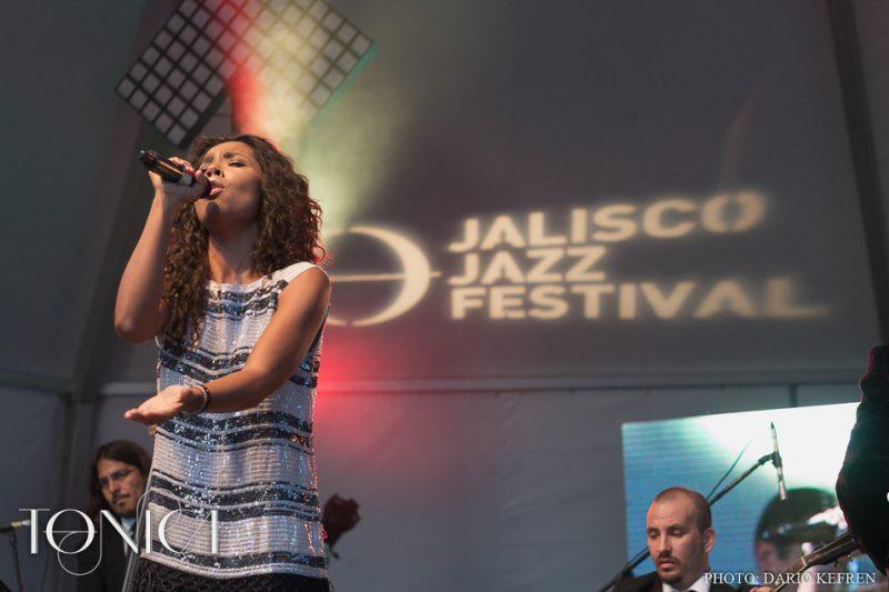 Fela Dominguez with Big Band Jazz de Mexico, Jalisco Jazz Festival 2014