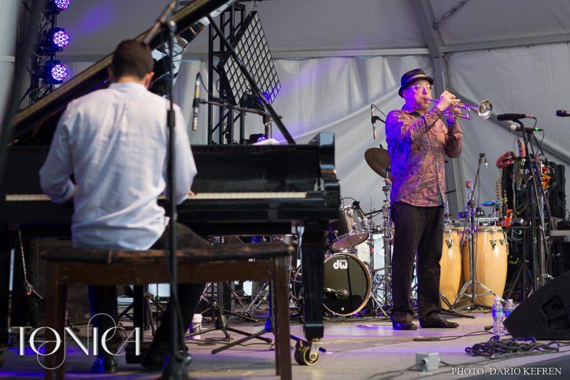 Brian Lynch and Emmet Cohen, Jalisco Jazz Festival 2014