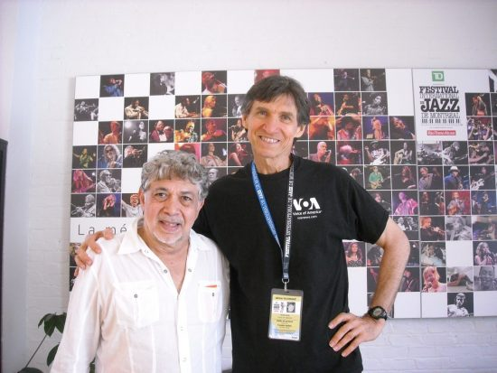 Monty Alexander and Russ Davis at the Montreal Jazz Festival image 0