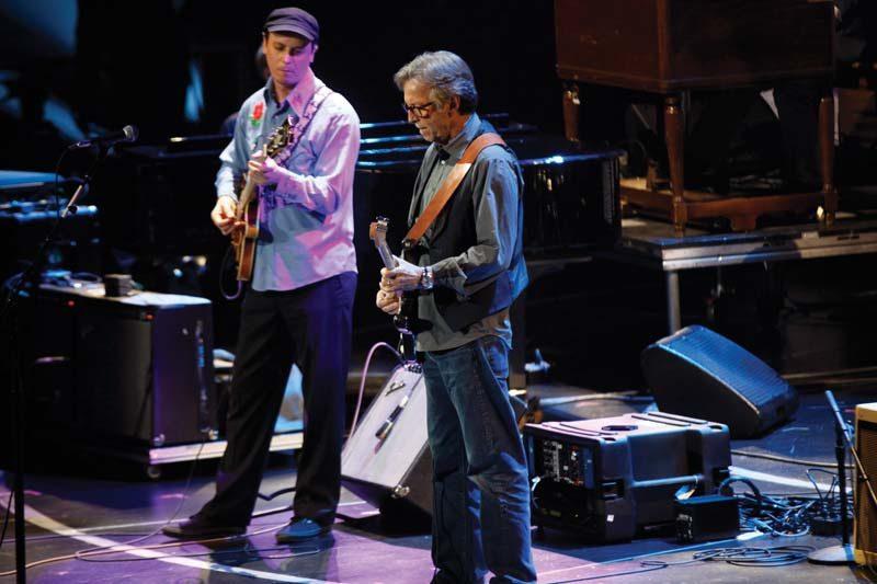 Kurt Rosenwinkel and Eric Clapton, Crossroads Guitar Festival, Madison Square Garden 2013