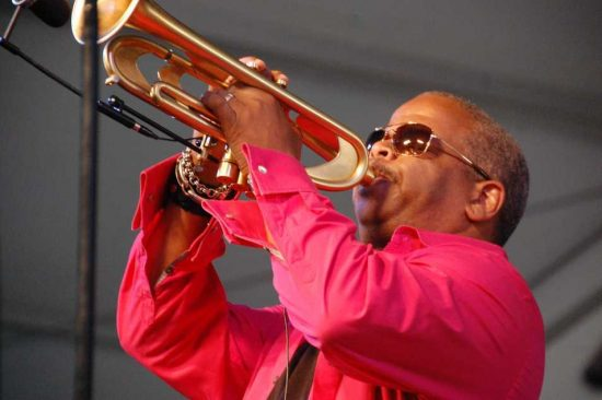 Terence Blanchard at New Orleans Jazz Fest 2013 image 0