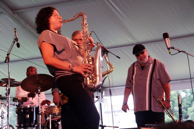 Anat Cohen and the Newport All-Stars, Newport Jazz Festival 2014