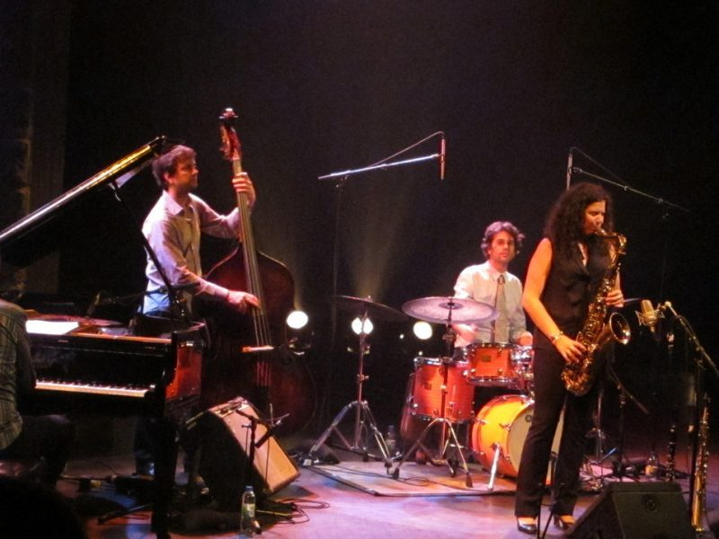 Anat Cohen Quartet performing during the 2011 Montreal International Jazz Festival