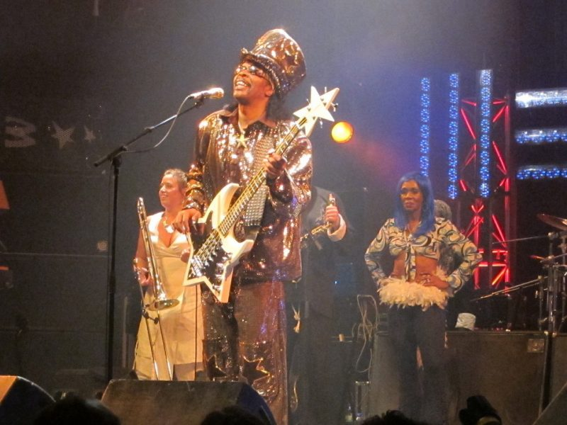 Bootsy Collins performing during the 2011 Montreal International Jazz Festival