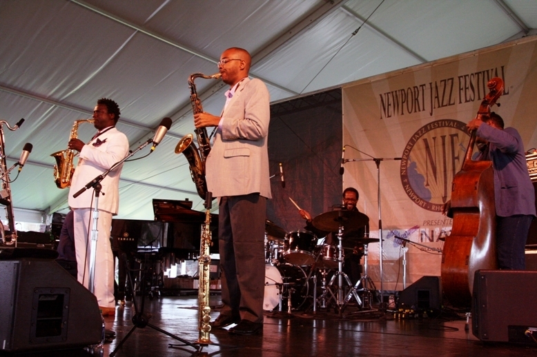 Brian Blade and the Fellowship Band, Newport Jazz Festival 2014