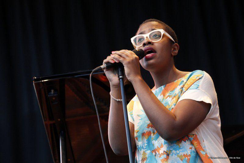 Cécile McLorin Salvant, Nice Jazz Festival 2014