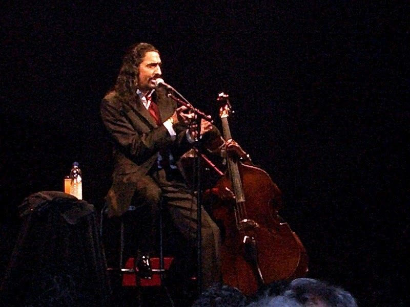 """Diego """"El Cigala"""" performing  at the 2010 Montreal International Jazz Festival"""