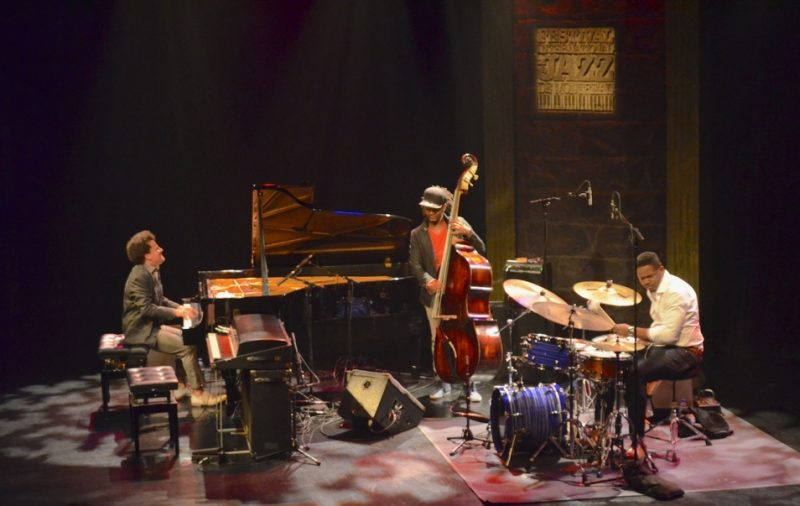 Jacky Terrasson, Ben Williams and Justin Faulkner, Montreal Jazz Festival, 2013