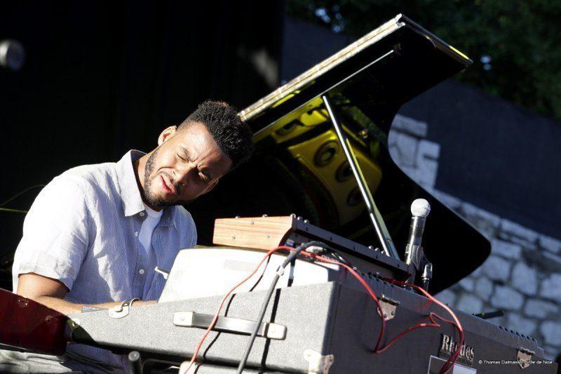 Kris Bowers, Nice Jazz Festival 2014