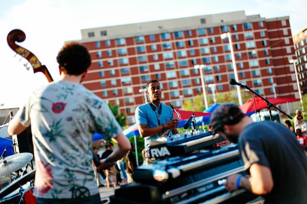 Braxton Cook Quartet, DC Jazz Festival 2014