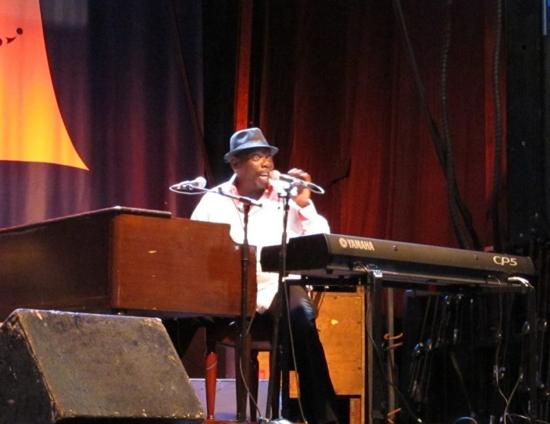 Lucky Peterson performing during the 2011 Montreal International Jazz Festival