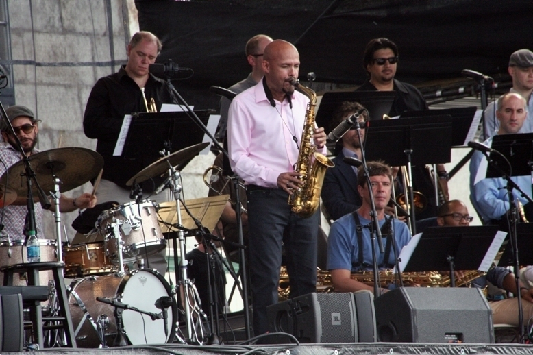 Miguel Zenón and the Identities Big Band,Newport Jazz Festival 2014