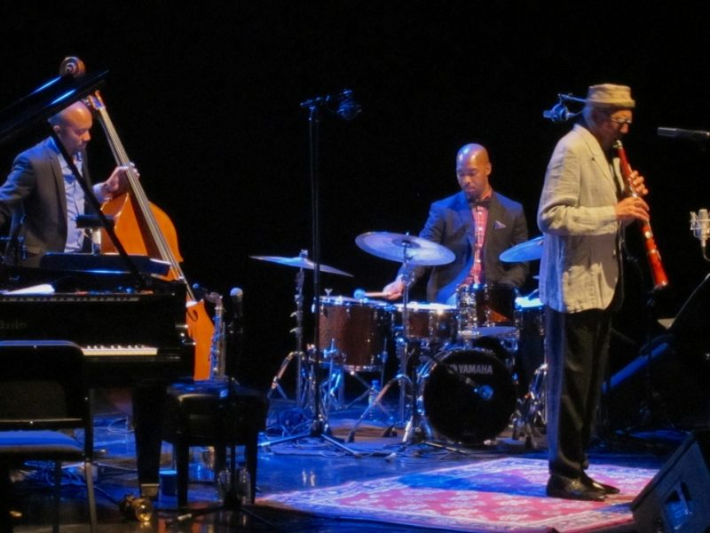 Reuben Rogers, Eric Harland and Charles Lloyd, Montreal Jazz Festival, 2013