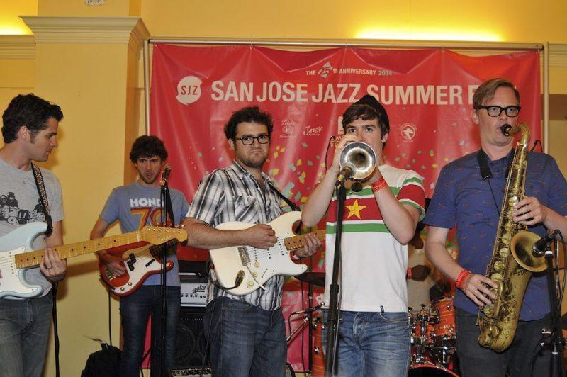Snarky Puppy, San Jose Jazz Summer Fest, 2014