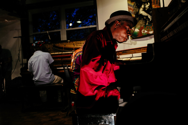 Piano Cutting Session, DC Jazz Festival 2014
