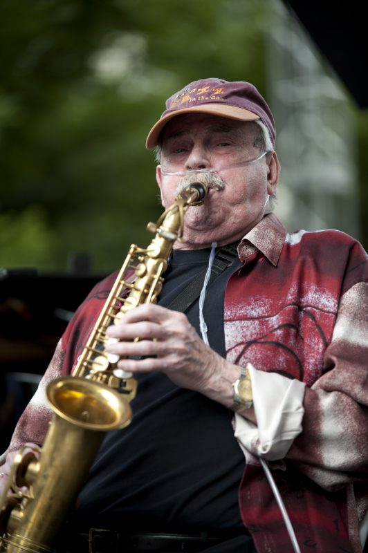Phil Woods, Detroit Jazz Festival 2014