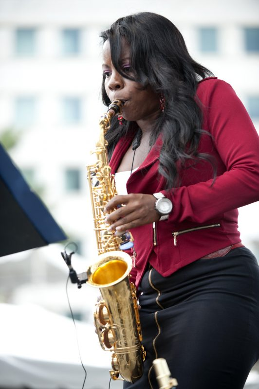 Tia Fuller, Detroit Jazz Festival 2014