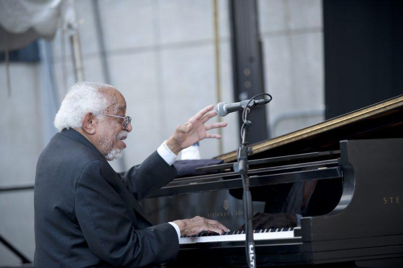 Barry Harris, Detroit Jazz Festival 2014