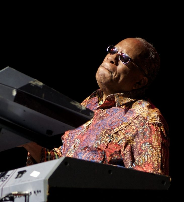 Lonnie Liston Smith in performance at the Attucks Theatre in Norfolk, Va.