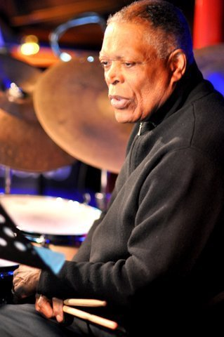 Billy Hart performing with the Damon Brown Quintet at London's Pizza Express - Soho