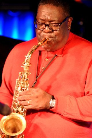 Jesse Davis performing with the Damon Brown Quintet at London's Pizza Express - Soho