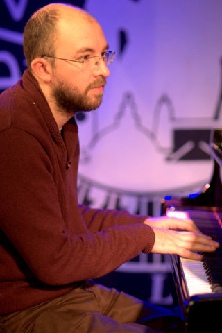 Paul Kirby performing with the Damon Brown Quintet at London's Pizza Express - Soho