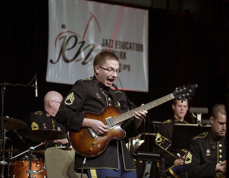 SSG Jonathan Epley – Jazz Ambassadors, Jazz Education Network conference, San Diego, 1-15
