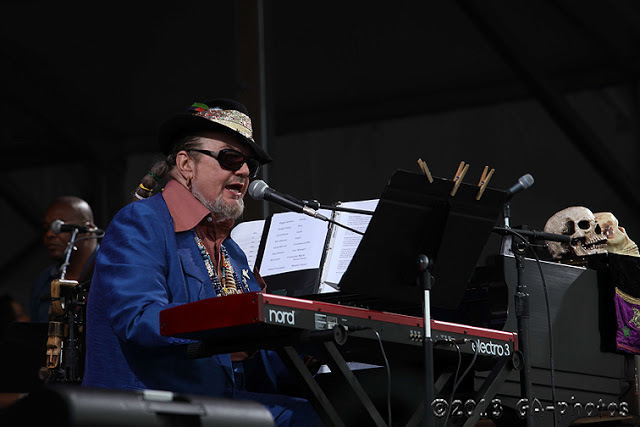 Dr. John at New Orleans Jazz Fest 2013, Weekend One