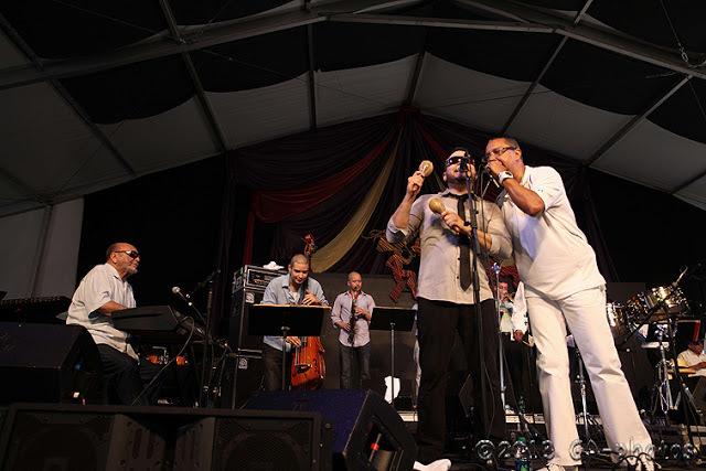 Eddie Palmieri Salsa Orchestra at New Orleans Jazz Fest 2013, Weekend One