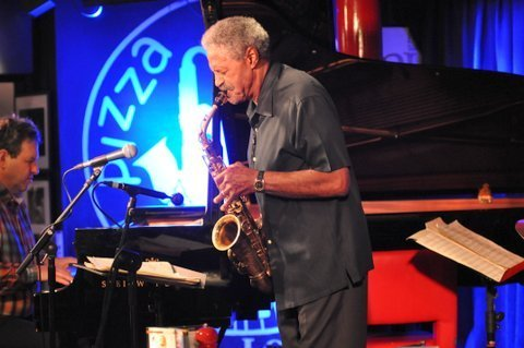 Charles McPherson with Bruce Barth in performance at Pizza Express in London