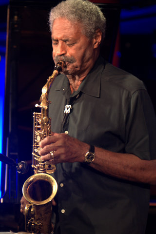 Charles McPherson in performance at Pizza Express in London