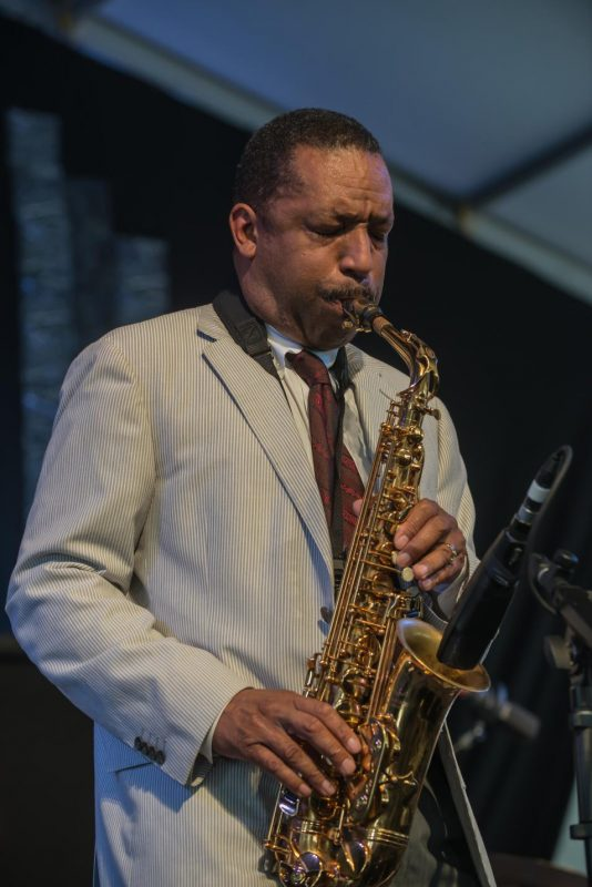 Donald Harrison, New Orleans Jazz & Heritage Festival, April 2015
