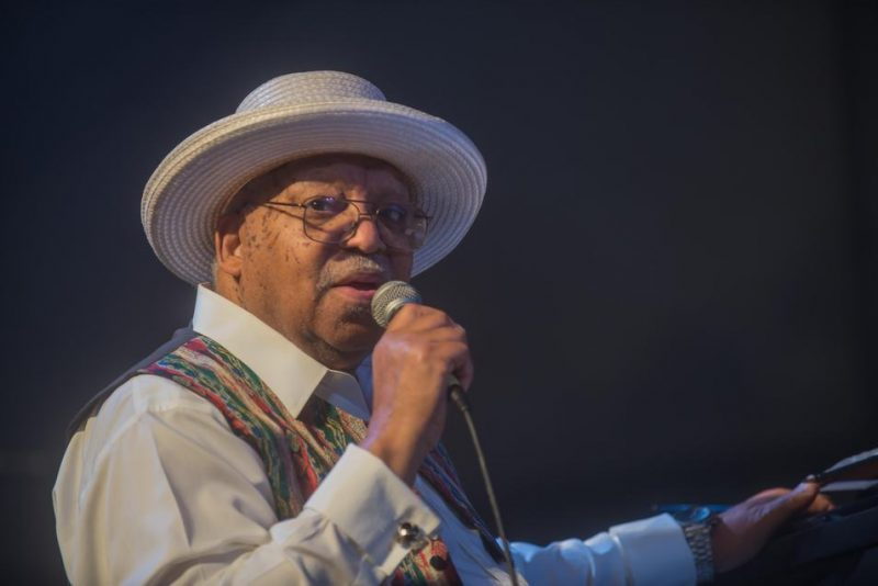Ellis Marsalis, New Orleans Jazz & Heritage Festival, April 2015