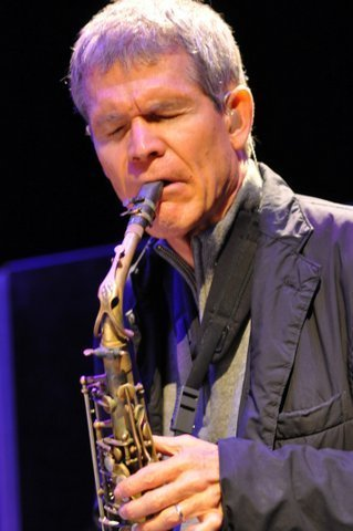 David Sanborn in performance at the Barbican Centre in London