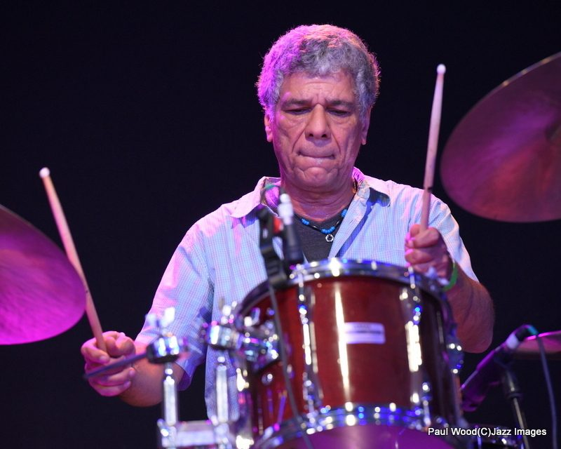 Richard Bailey in performance at the 2015 Ealing Jazz Festival