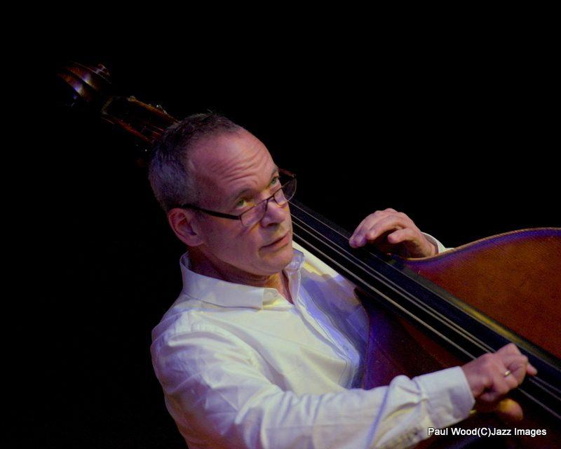 Alec Dankworth in performance at the 2015 Ealing Jazz Festival