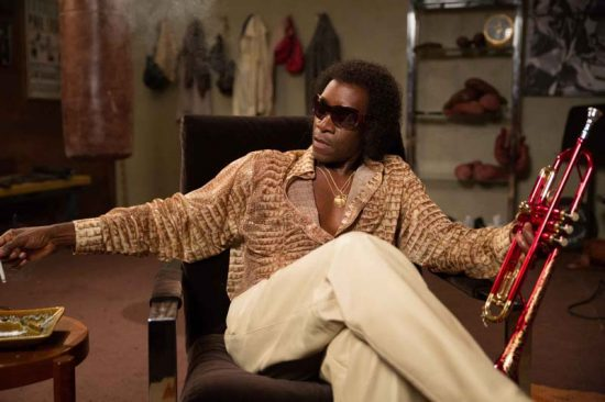 "Don Cheadle as Miles Davis in ""Miles Ahead."" Photo courtesy of Sony Pictures Classics image 0"