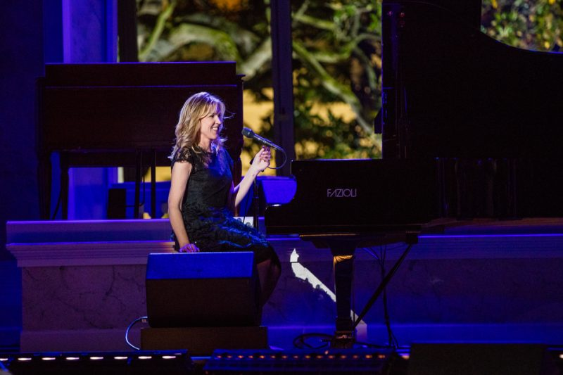 Diana Krall performs in the International Jazz Day Global Concert at the White House; April 29, 2016
