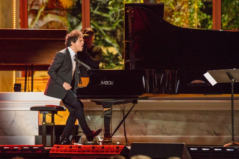 Jamie Cullum performs in the International Jazz Day Global Concert at the White House; April 29, 2016