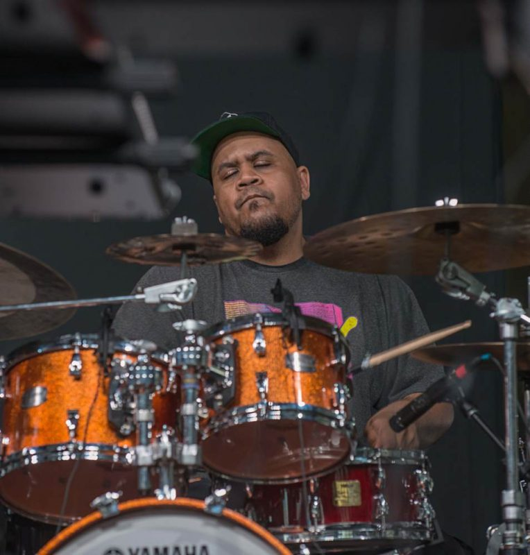 "Jason ""JT"" Thomas of Snarky Puppy, New Orleans Jazz Fest 2016"