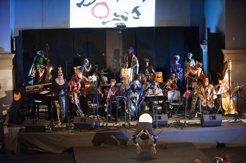 The Sun Ra Arkestra celebrates its 60th anniversary at Vision Festival 21; New York's Judson Memorial Church, June 8, 2016