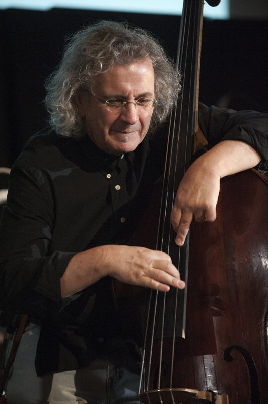 Michael Bisio performs at Vision Festival 21; New York's Judson Memorial Church, June 8, 2016